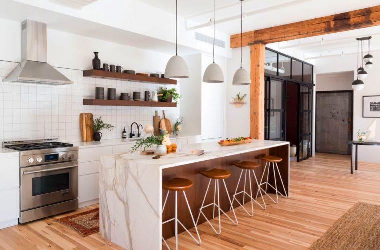 cucina moderna marche tipi materiali